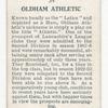 Oldham Athletic.