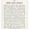 West Ham United.