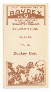 Donkey boy.