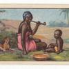 Dinka woman and child.