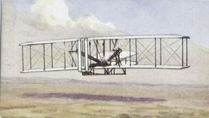 Wilbur Wright - first to fly.