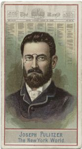 Joseph Pulitzer. The New York ... Digital ID: 410350. New York Public Library