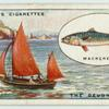 Mackerel fishing off the Devon Coast.