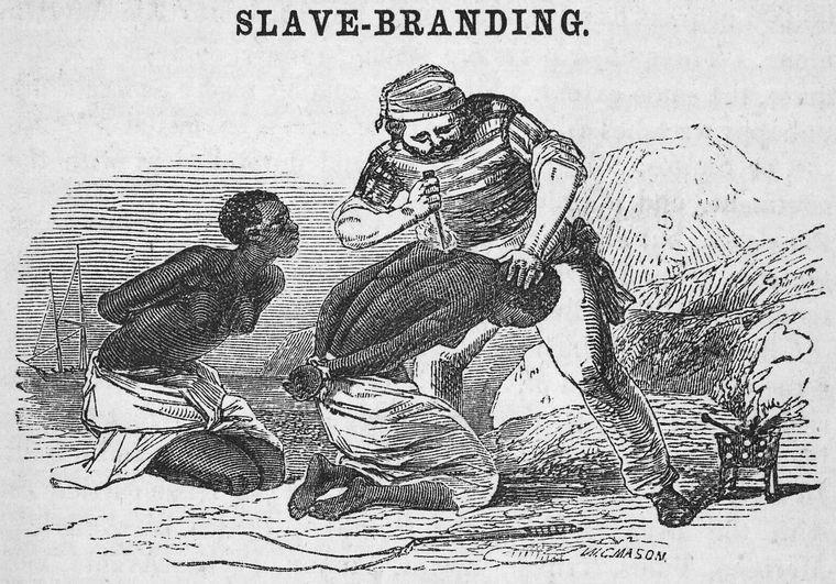 Slave-branding.