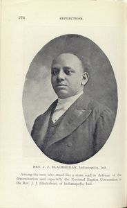 Rev. J. J. Blackshear, Indianapolis, Ind.