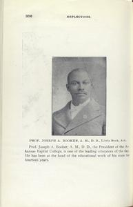 Prof. Joseph A. Booker, A. M., D. d., Little Rock, Ark.
