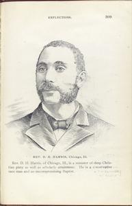 Rev. D. H. Harris, Chicago, Ill.