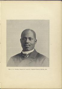 Rev. J. L. Frazier, Pastor St. Louis St. Baptist Church, Mobile, Ala.