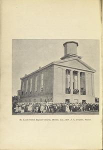 St. Louis Street Baptist Church, Mobile, Ala., Rev. J. L. Frazier, Pastor