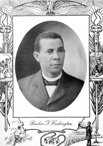 Booker T. Washington [recto].