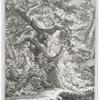 Das Brunfft-Schiessen : Nach der Natur in Walde bey Starenberg Anno 1736, gezeichnet.