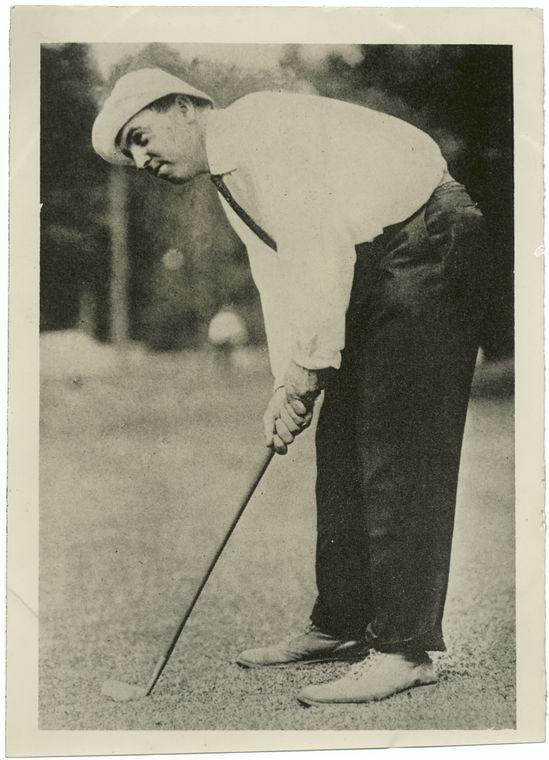 H. Chandler Egan, western grip.