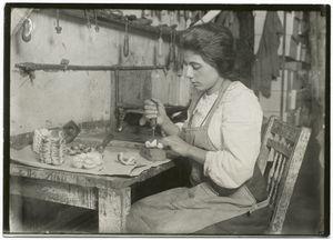 Artificial flower making, goff... Digital ID: 416493. New York Public Library