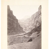 No. 11. Grand Cañon of the Colorado River, mouth of Kanab Wash, looking west.