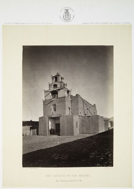 Fascinating Historical Picture of Mission San Miguel in 1871