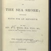 The common objects of the sea shore... [Title page]