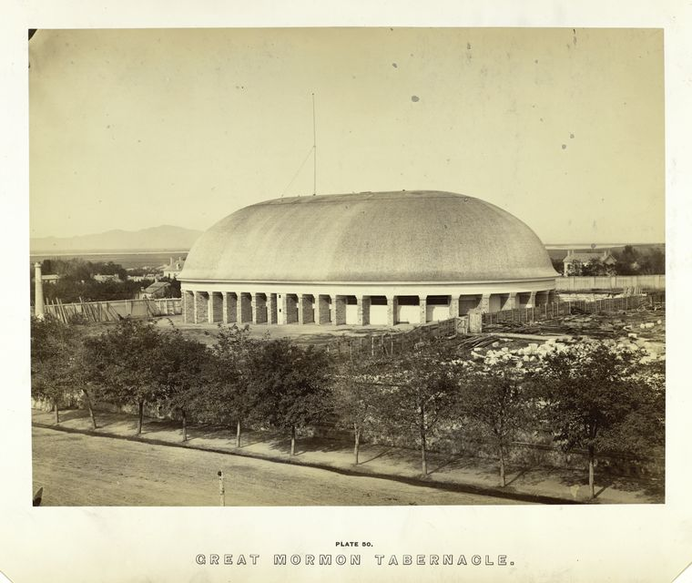Great Mormon Tabernacle.