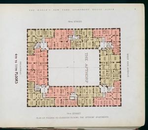 Plan of  fourth to eleventh fl... Digital ID: 417148. New York Public Library