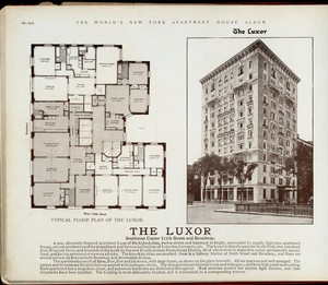 The Luxor. Southwest Corner 115th Street and Broadway.