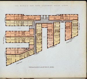 Typical floor plan of the St. ... Digital ID: 417270. New York Public Library