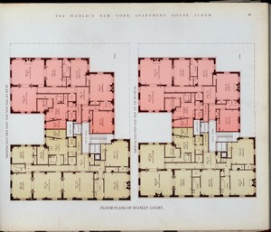 Floor plan of Stanley Court. Digital ID: 417286. New York Public Library