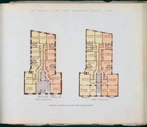 Typical floor plans of the Sta... Digital ID: 417334. New York Public Library