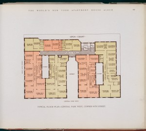 Typical floor plan -- Central ... Digital ID: 417362. New York Public Library