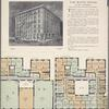 The White House, 601 West 172nd Street; Plan of first floor; Plan of upper floors.