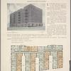 The Elmsford, Broadway, 181st Street to 182nd Street; Plan of upper floors.