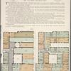 Greylock Court, East 168th Street and Boston Road. Plan of first floor; Plan of upper floors