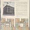 Rosbert Hall, southeast corner Broadway and 163d Street; Plan of first floor; Plan of upper floors.