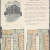 The Alfredo, southwest corner Broadway and 162nd Street; Plan of first floor; Plan of upper floors