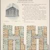 Charleston Court, southwest corner Broadway and 163d Street; Plan of first floor; Plan of upper floors