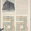 Hispania and Audubon Halls, block front - Broadway, 156th to 157th Street; Plan of first floor; Plan of upper floors