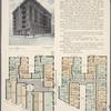 The Ravenwood, southwest corner Broadway and 180th Street; Plan of first floor; Plan of upper floors.
