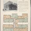 The Washington Irving, northwest corner Broadway and 151th Street; Typical upper floor plan.
