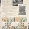 Victor Hall, 622 West 113th Street, at Riverside Drive; Plan of first floor; Plan of upper floors; View of Riverside Drive looking South from 113th Street.