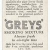 'Greys' smoking mixture (in a tin).