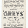 'Greys' smoking mixture (in tin).