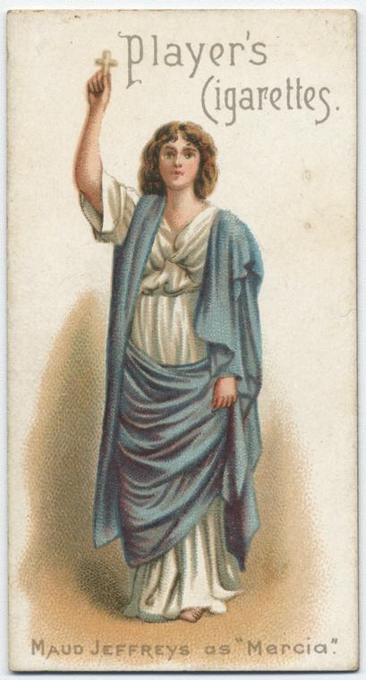 Maud Jeffreys as 'Mercia'.