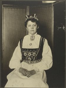 [Norwegian woman.]