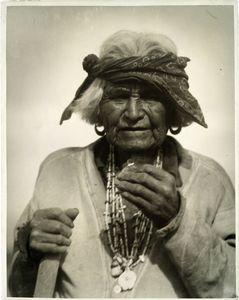 Old man at Zuni, N.M., 1926.
