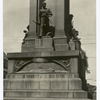 Iron soldier from Civil War monument at Waterbury, Conn.
