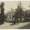 Front view of Upsula [i.e. Upsala] house, Germantown, Pa.