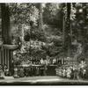 Bohemian Grove stage, California High Jinks.