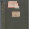 Buckram binding used as wrapper in Herschel family library