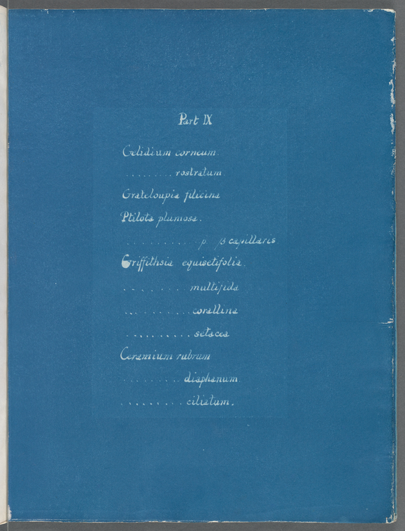 [Contents list.]