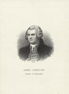 James Hamilton, governor of Pennsylvania.