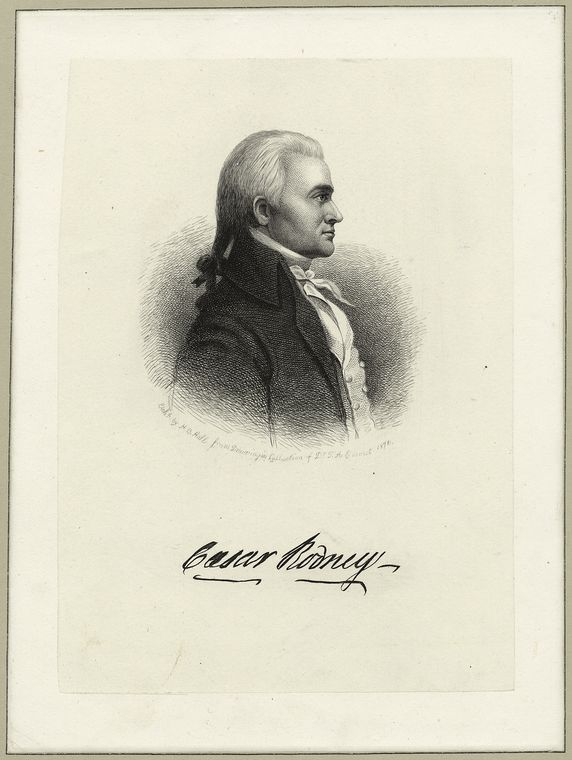 Fascinating Historical Picture of Caesar Rodney in 1871