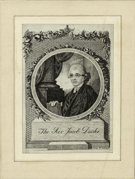Fascinating Historical Picture of Jacob Duche in 1790